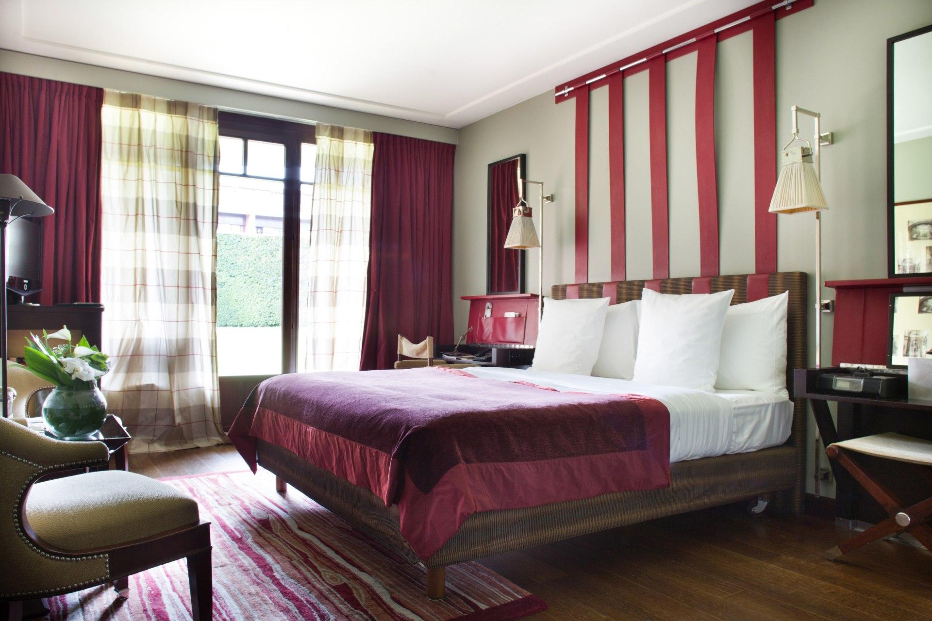 Hotelzimmer des La Reserve Hotels