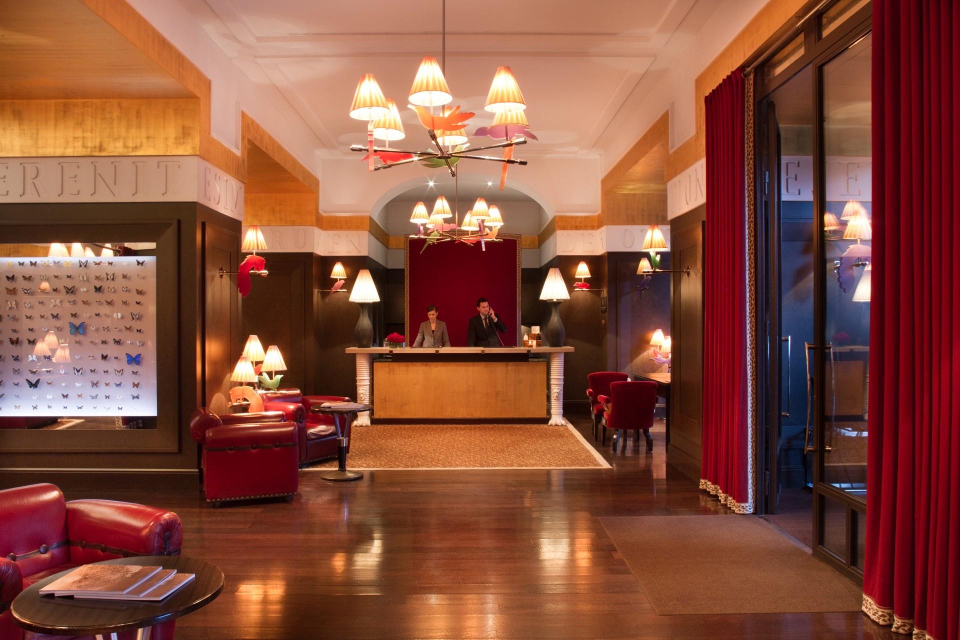 Rezeption des La Reserve Hotels