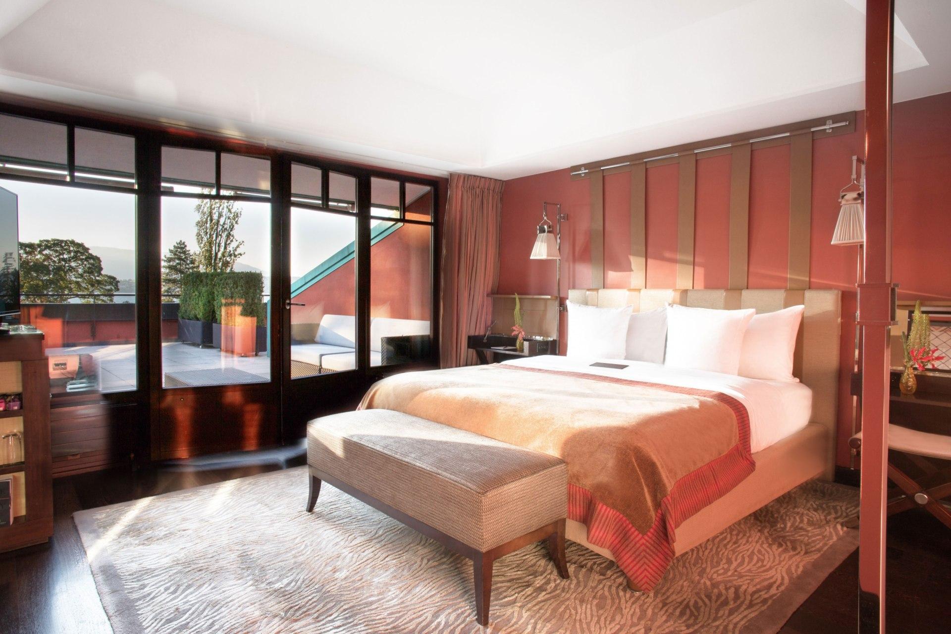 Suite Ausblick des La Reserve Hotels