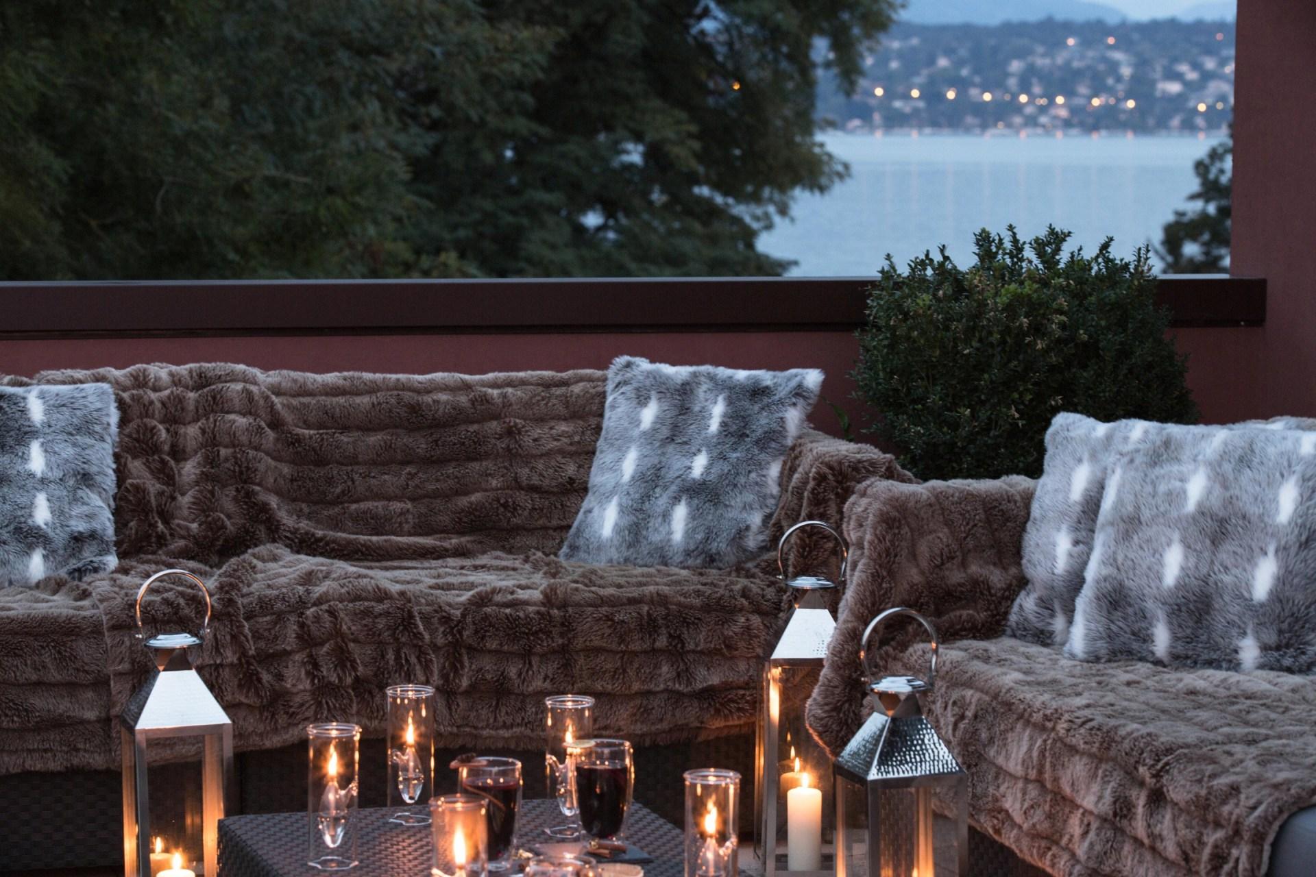 Terrasse des La Reserve Hotels