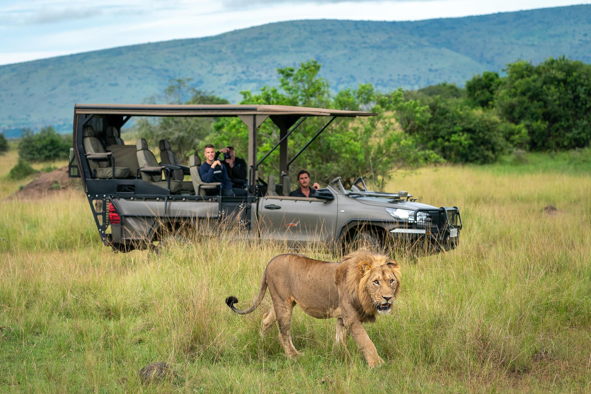 Safari im Akagera Nationalpark mit Wilderness Safaris
