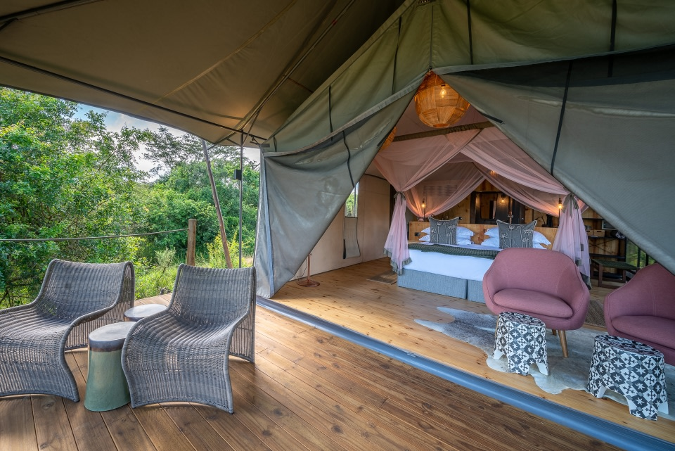 Suite im Magashi Camp