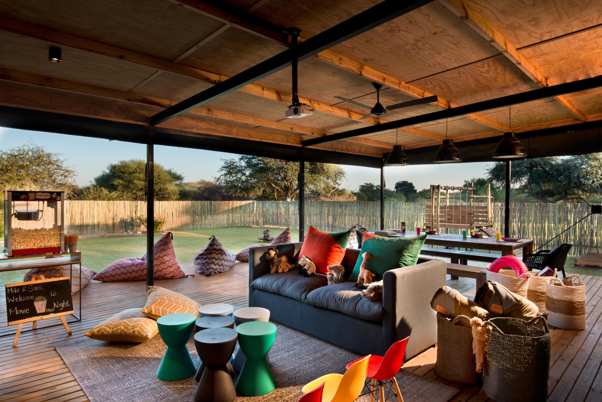 Kids Club in der Marataba Safari Lodge