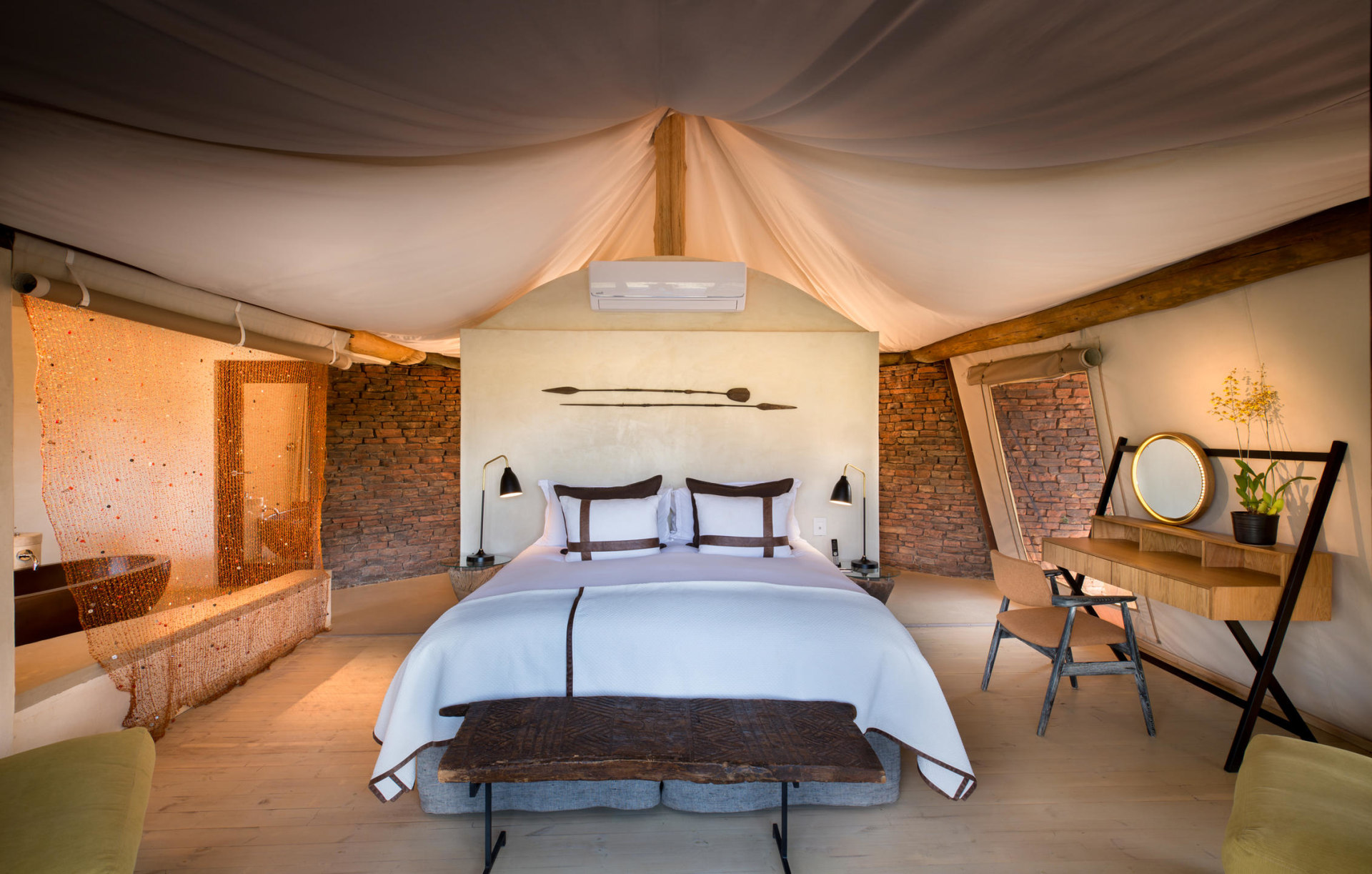 Luxury Tent der Marataba Safari Lodge