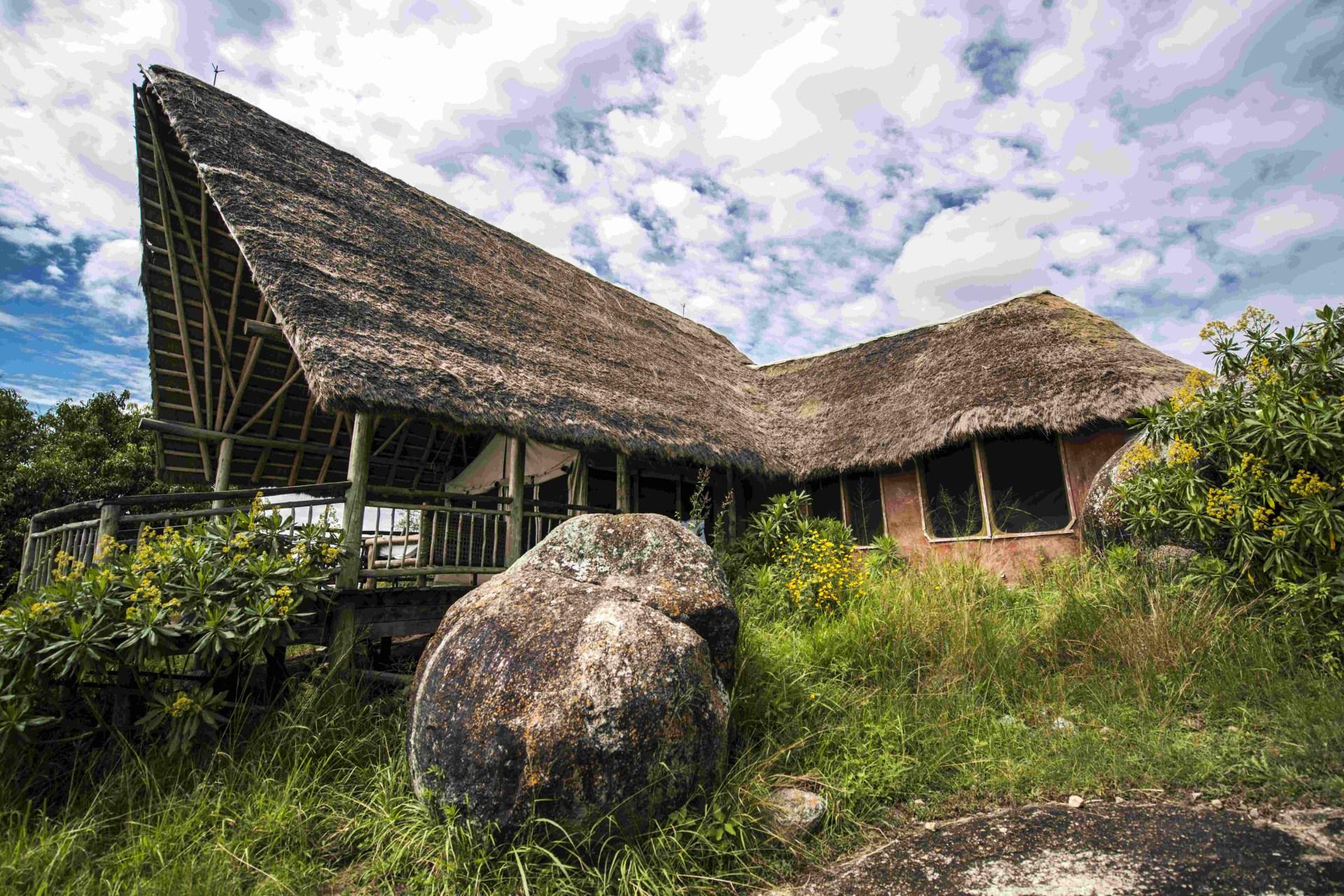 Lage der Mihingo Lodge