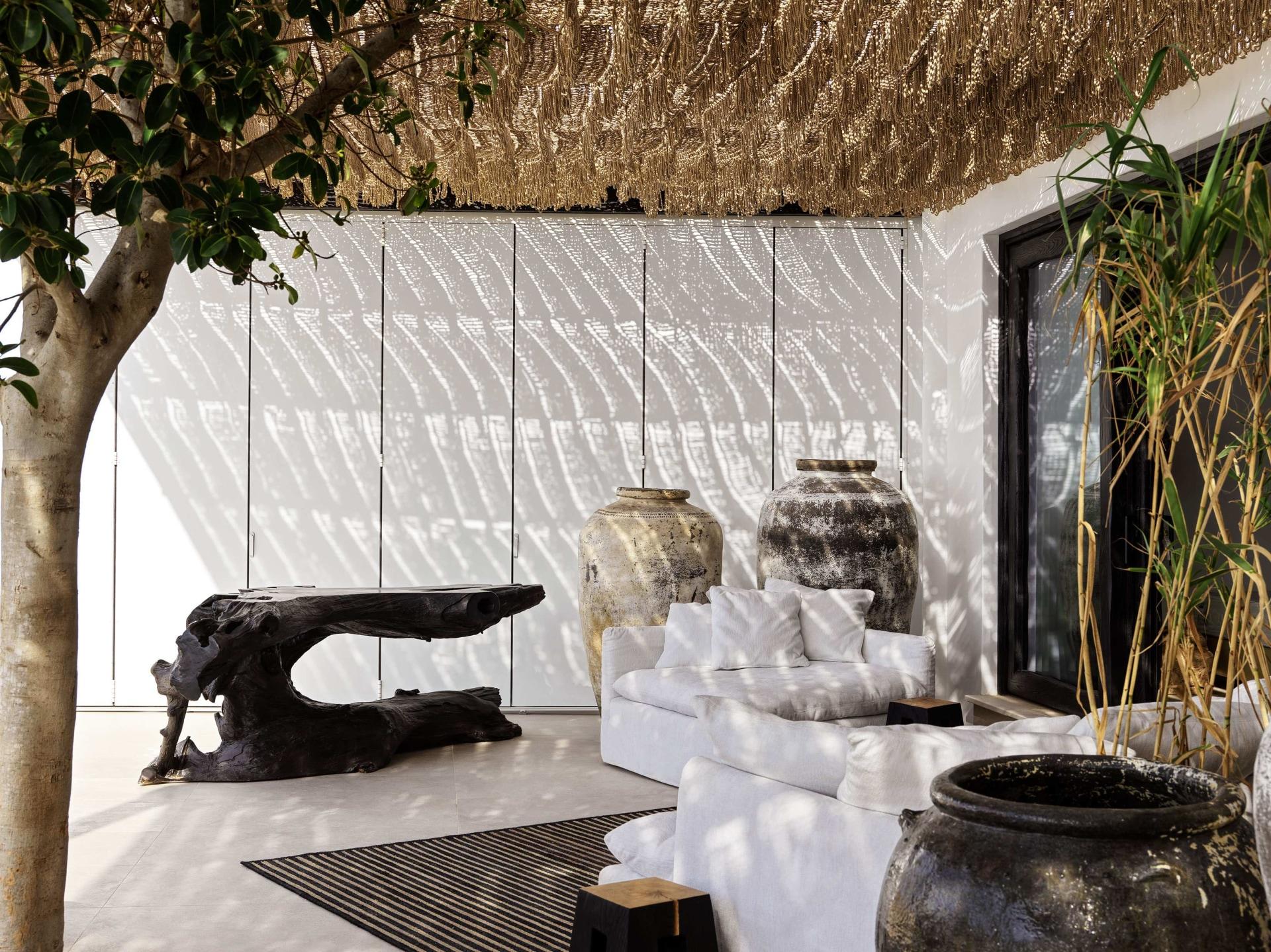 Terrasse des Honeymoon Retreats