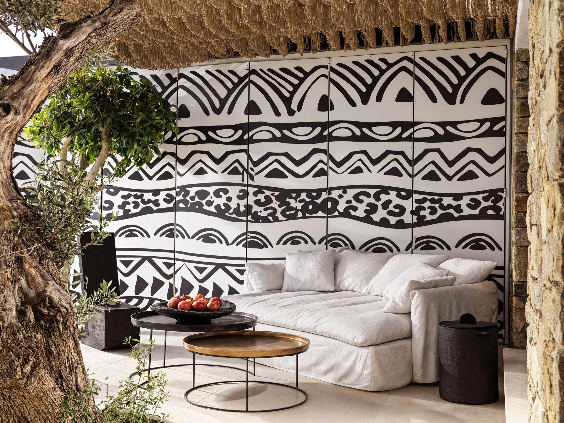 Terrasse der One Bedroom Villa mit privatem Pool