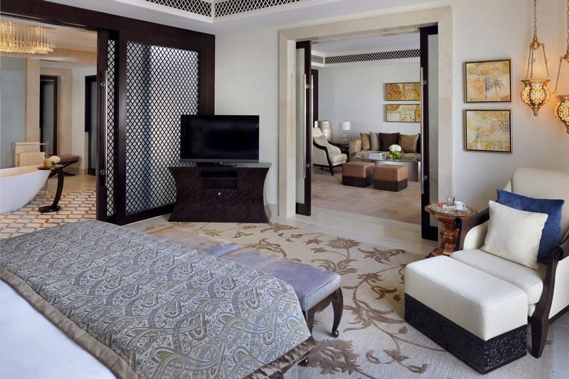 Schlafbereich der Beach Executive Suite