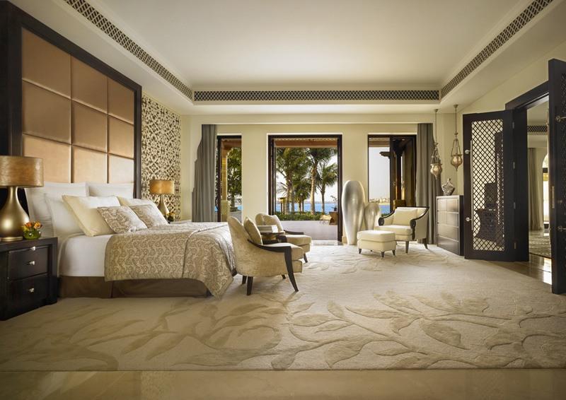 Schlafbereich der Beachfront Two Bedroom