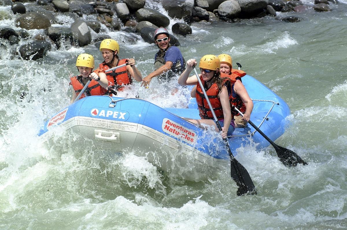 Fluss-Rafting