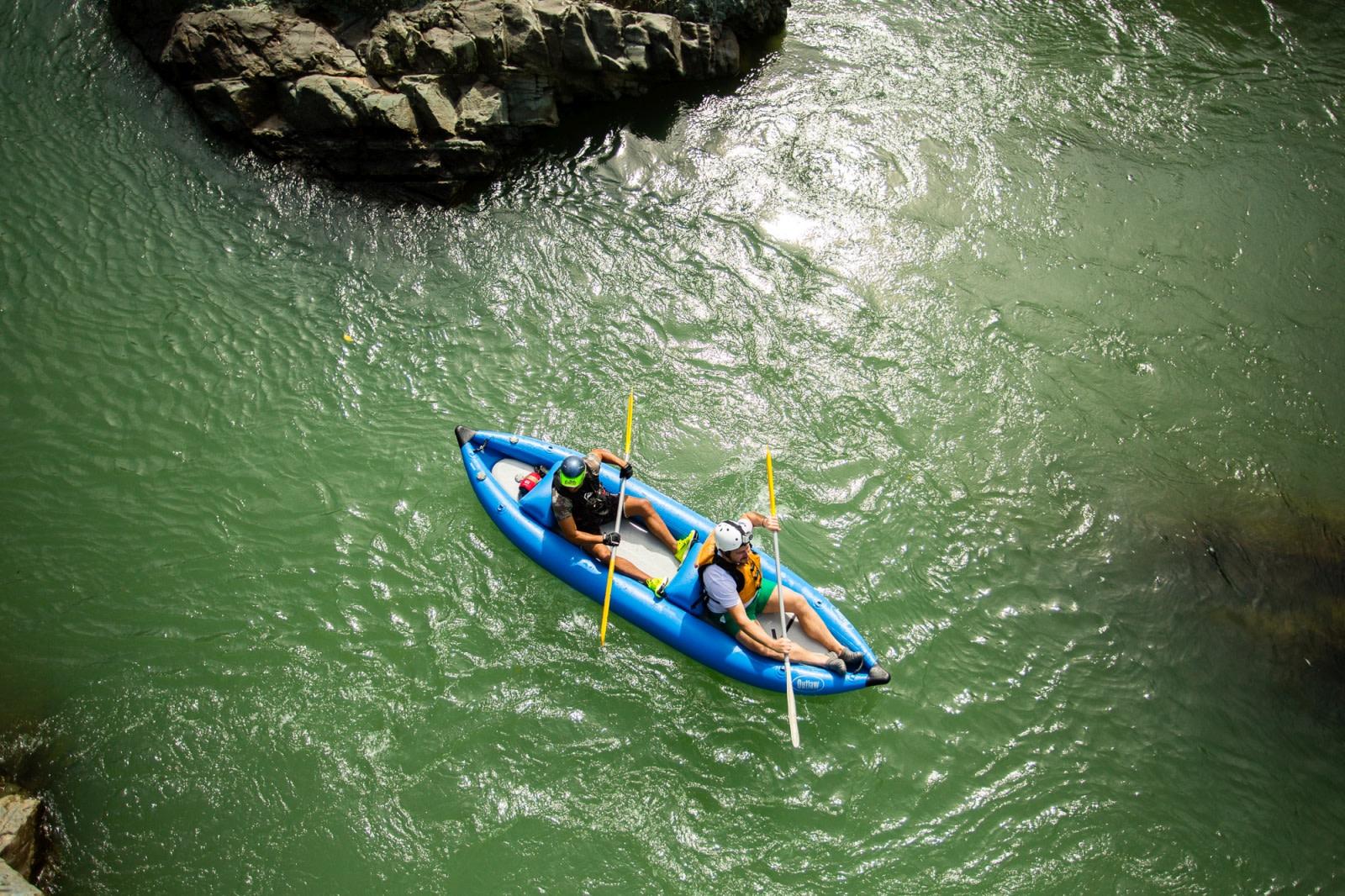 Kanu-Ausflug