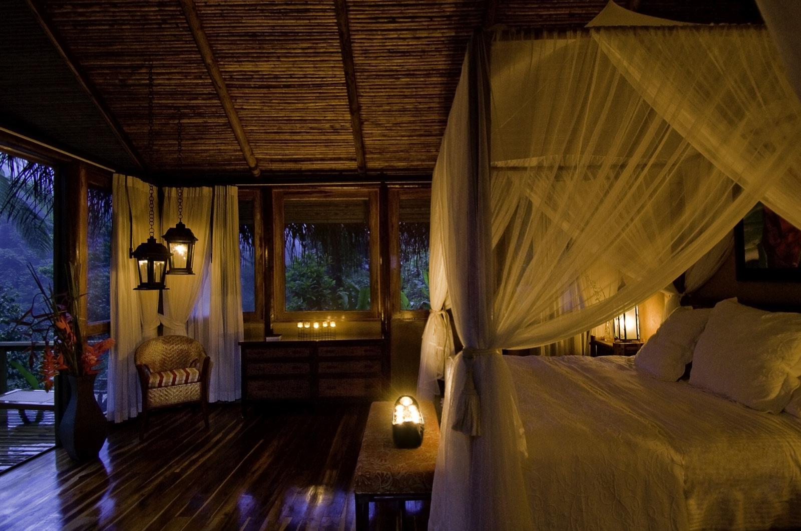 Innenansicht der Honeymoon Suite