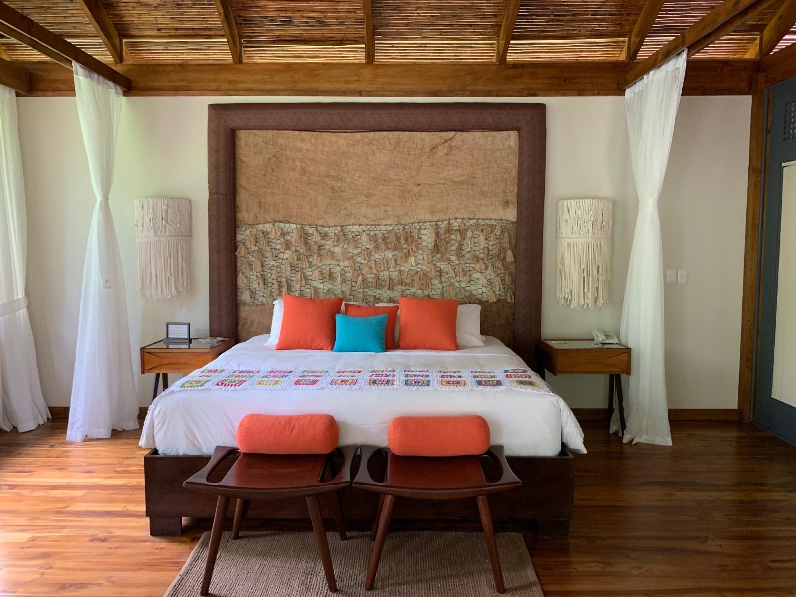 Schlafzimmer der River Suite