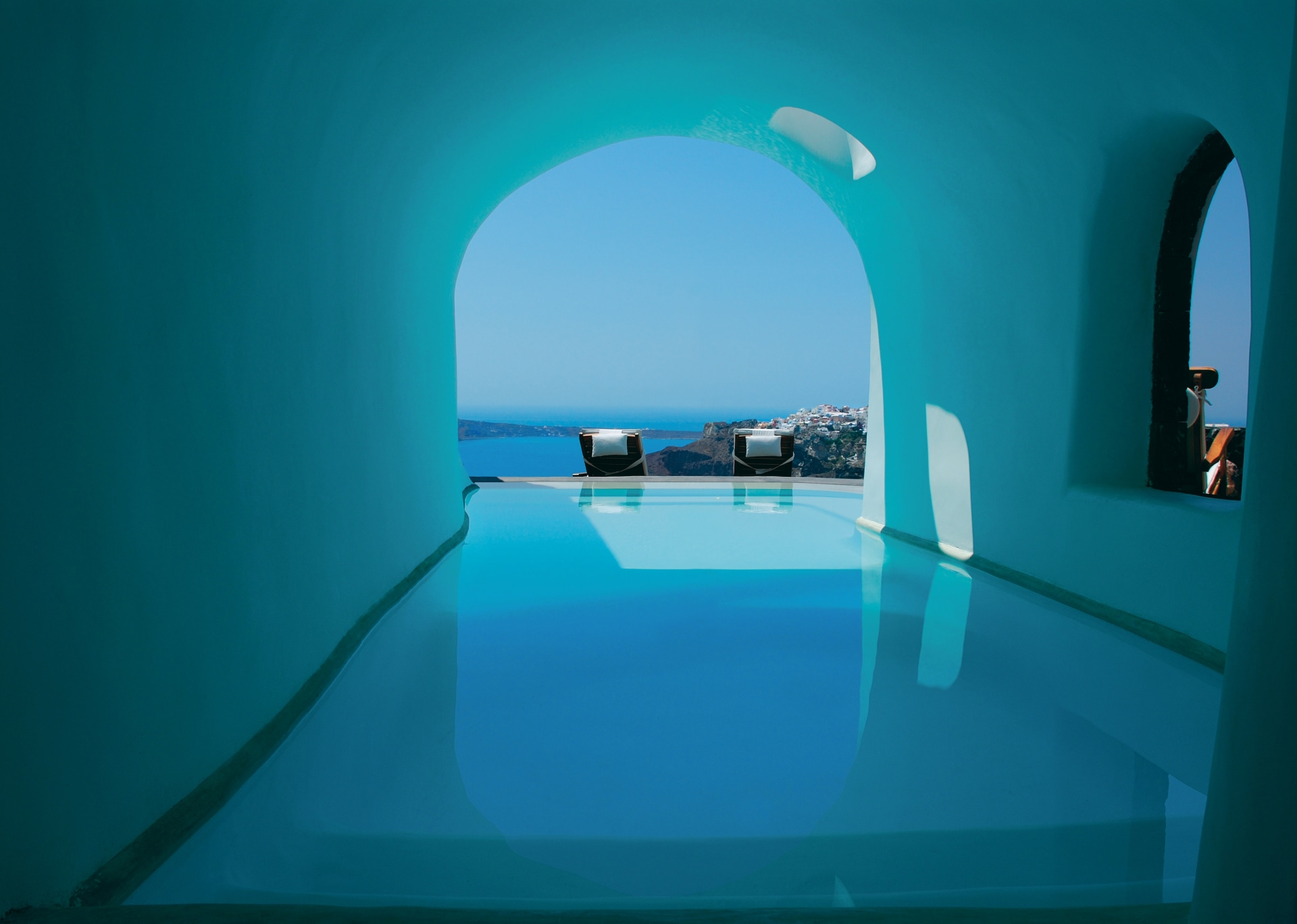 Pool der Suite
