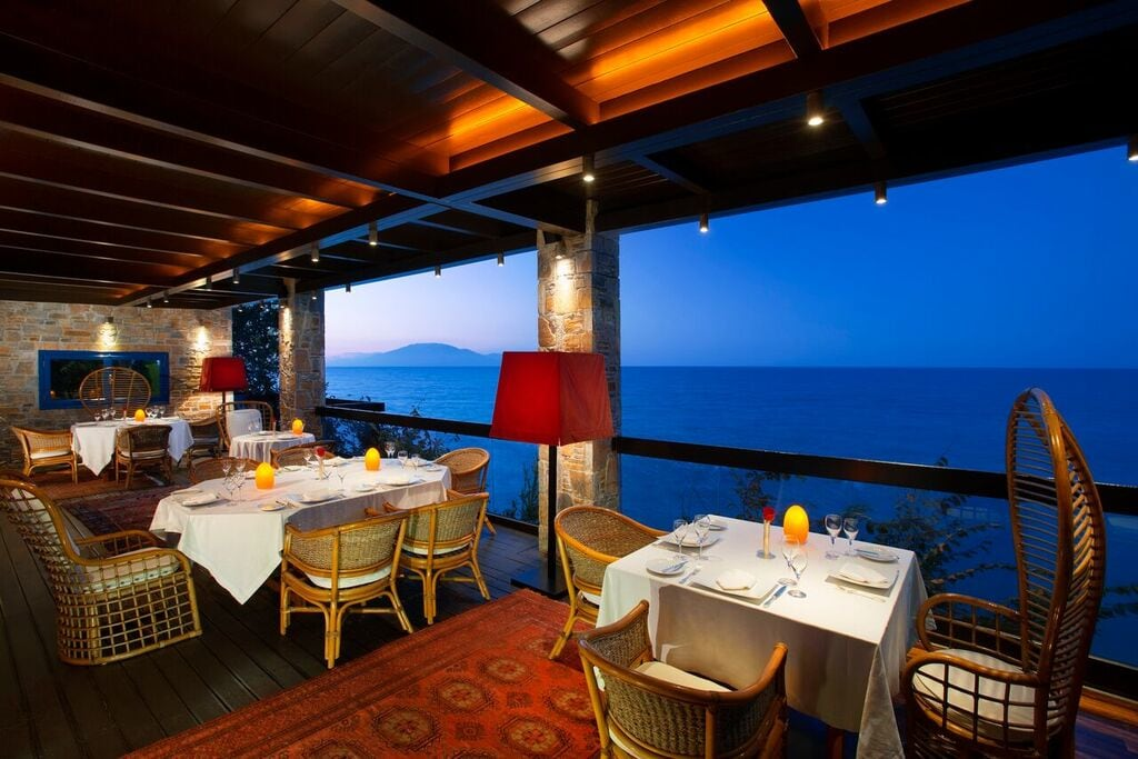 Terrasse des The Club House Restaurant