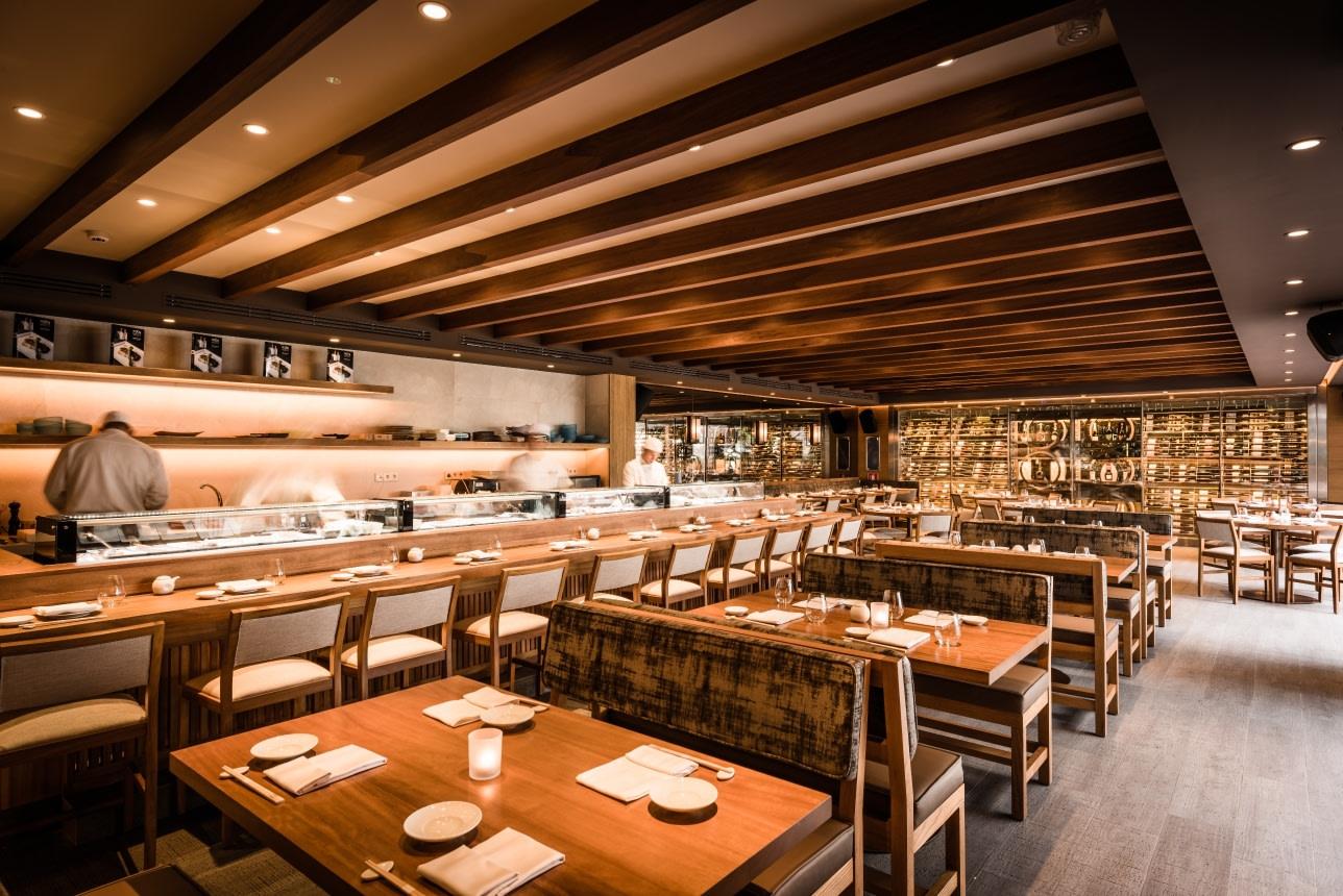 Restaurant Nobu im Puente Romano Hotel