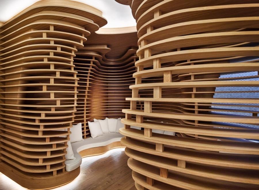 Lounge im Six Senses Spa des Puente Romano Hotels