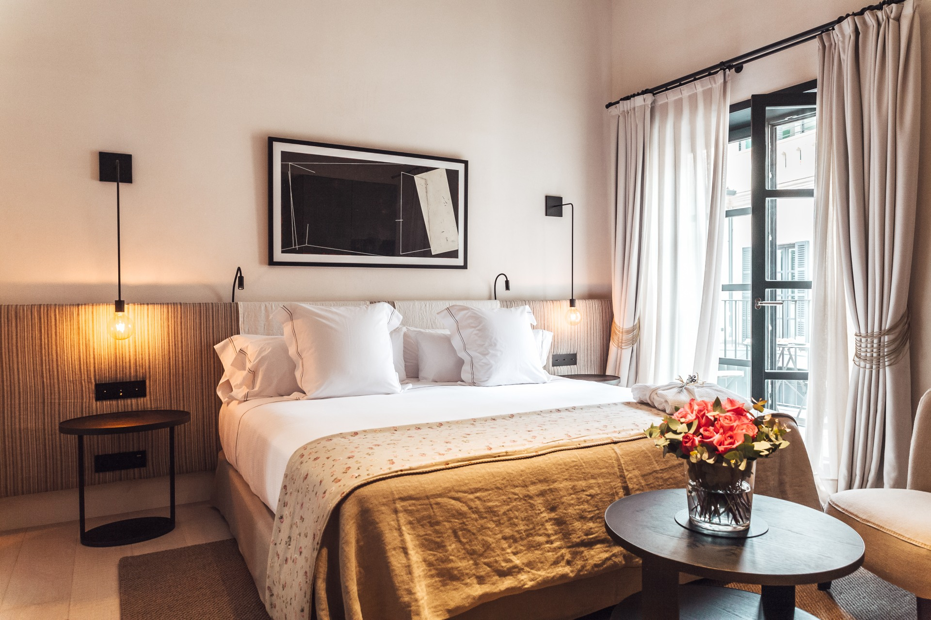 Detailansicht eines Zimmer im San Francesc Hotel