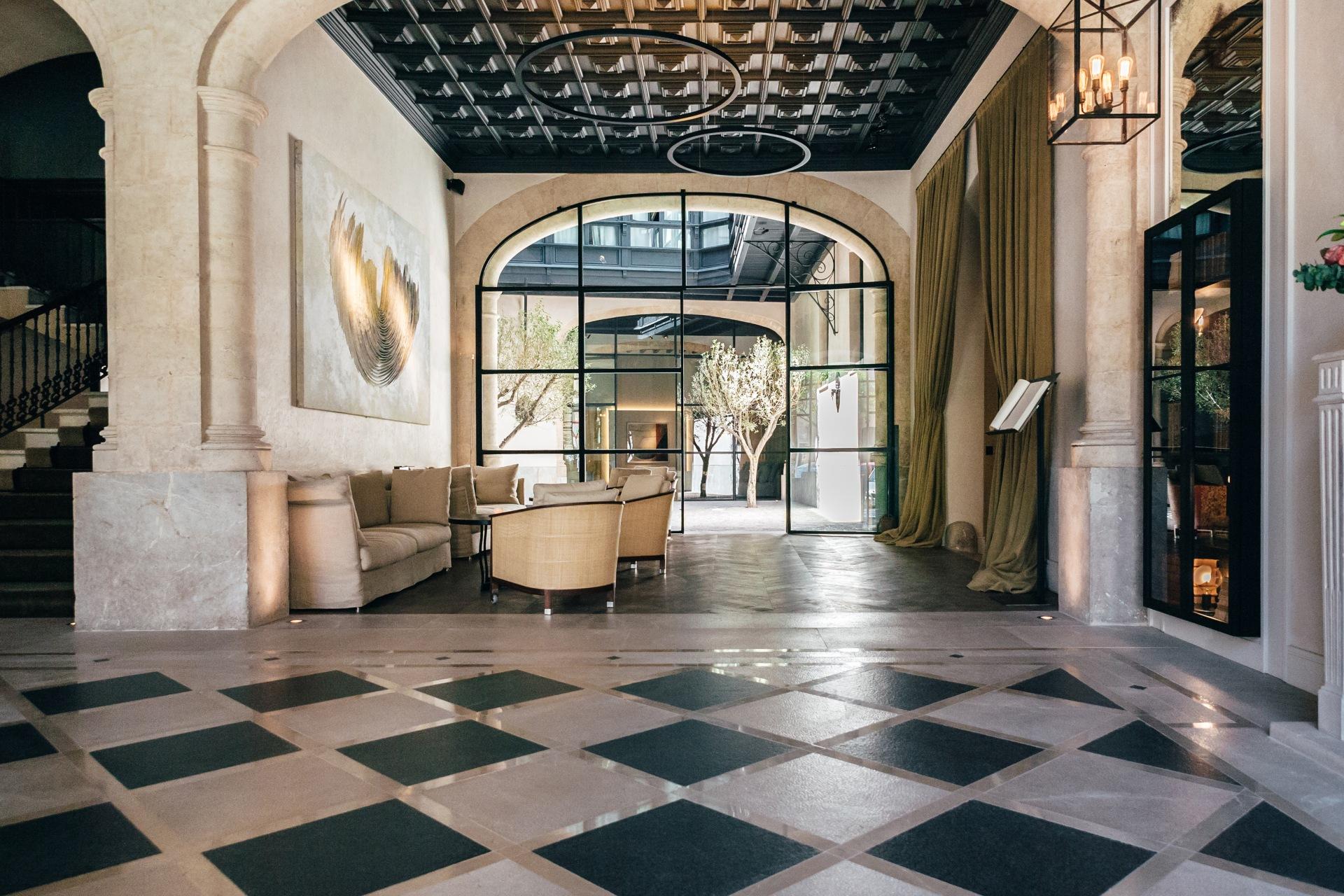 Hotellobby des San Francesc Hotel