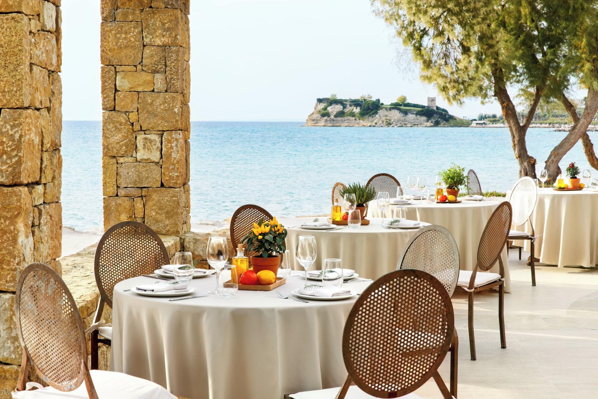Außenansicht des Cabana Restaurants