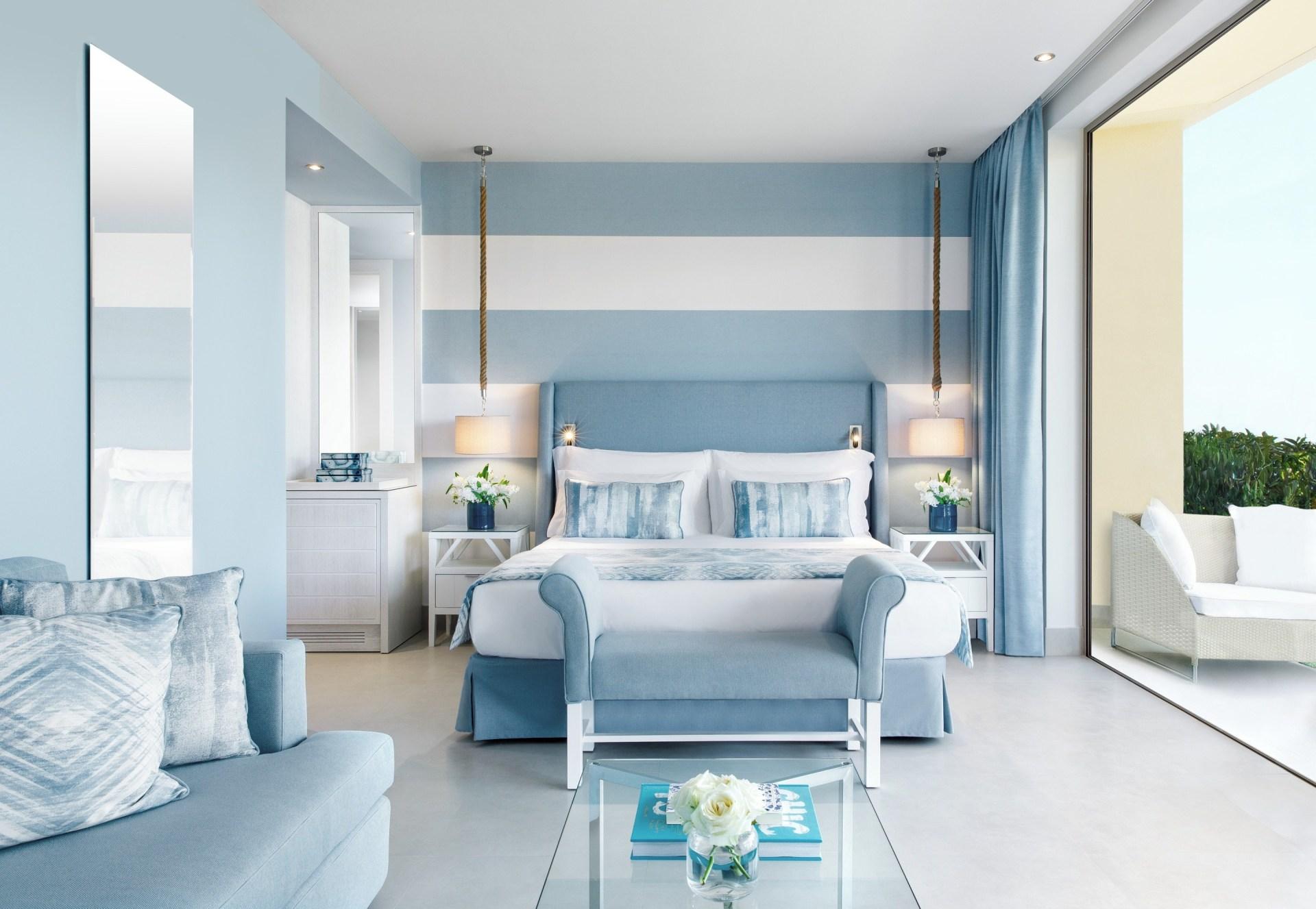 Schlafzimmer vom Double Room