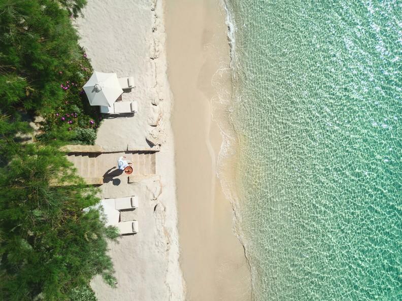 Strand vom Sani Club Hotel