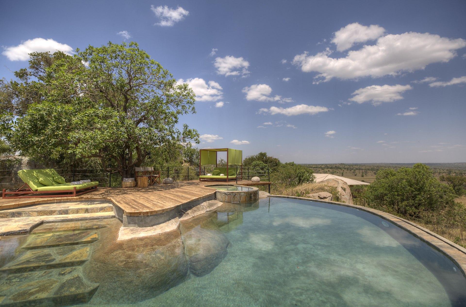 Swimmingpool des Serengeti Bushtops