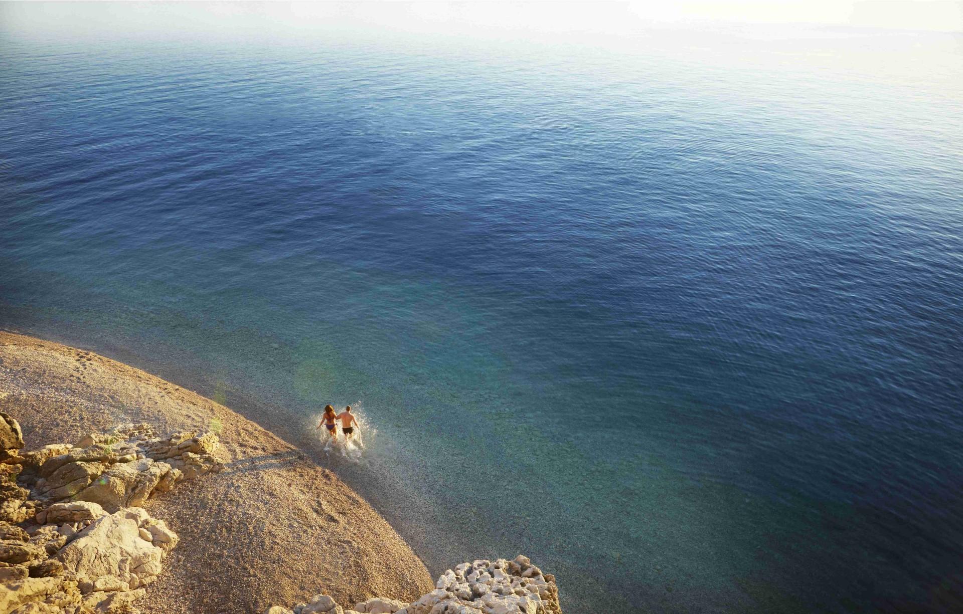 Strand vom Sun Gardens Dubrovnik