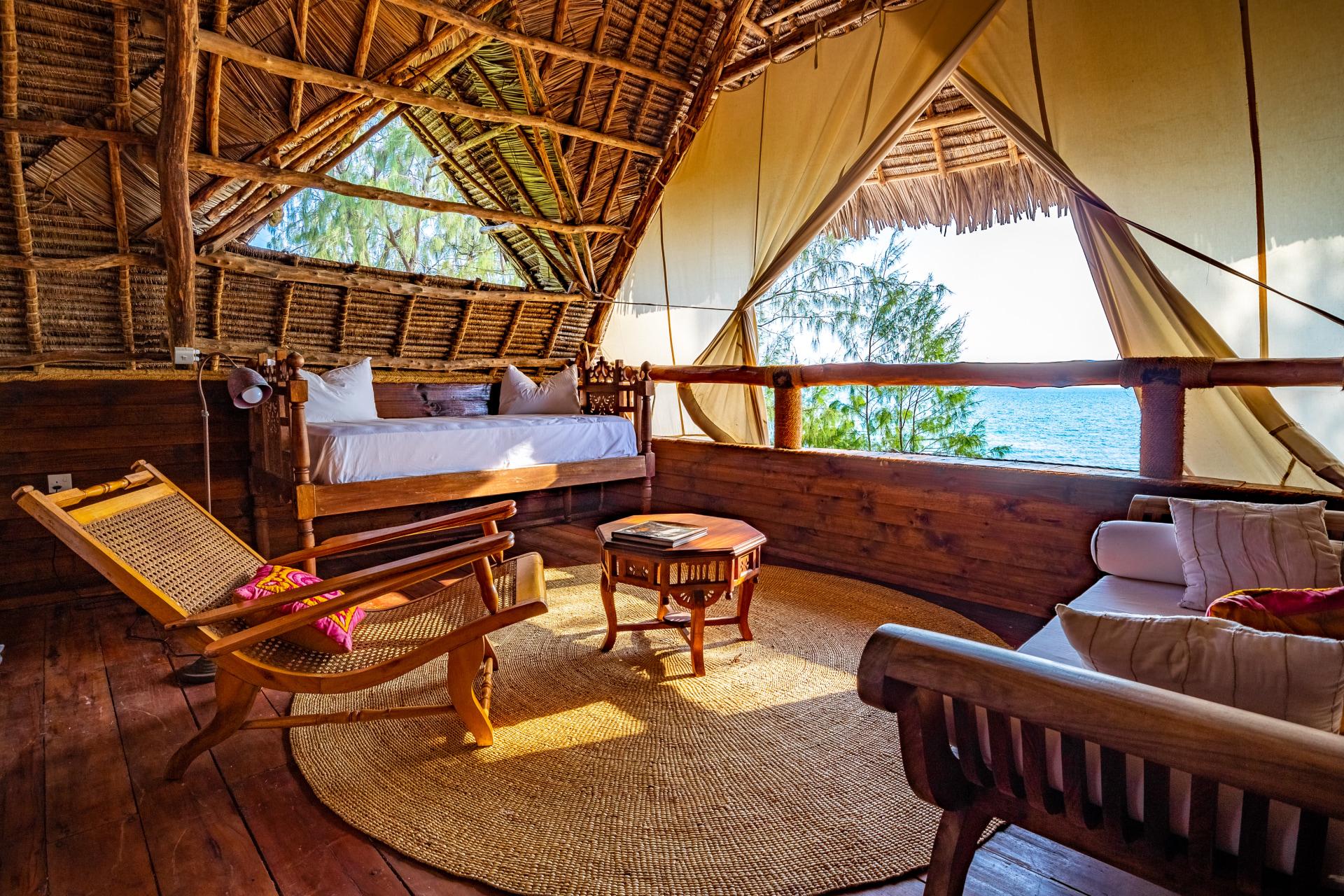 Loungebereich einer Banda