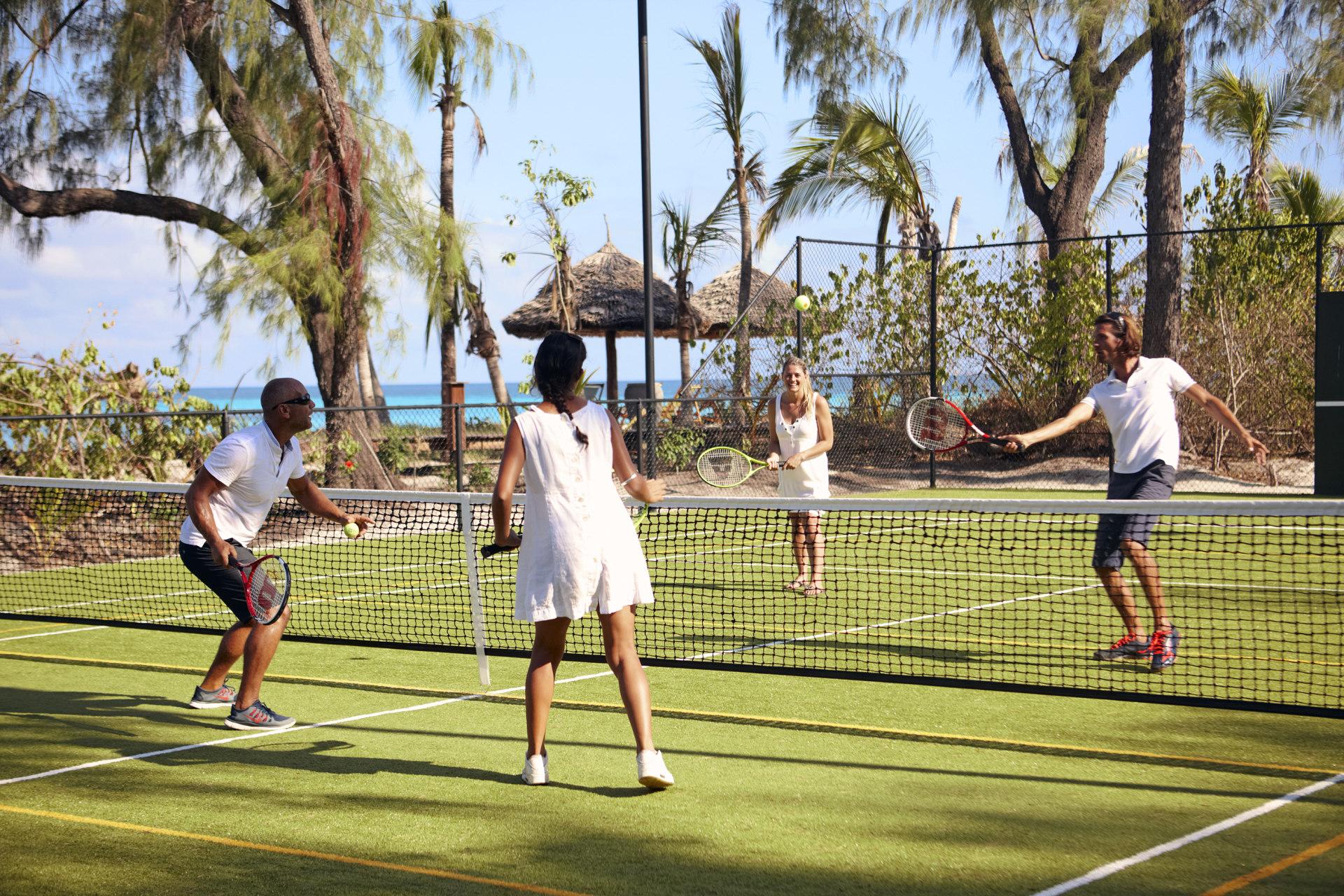 Tennis auf Thanda Island