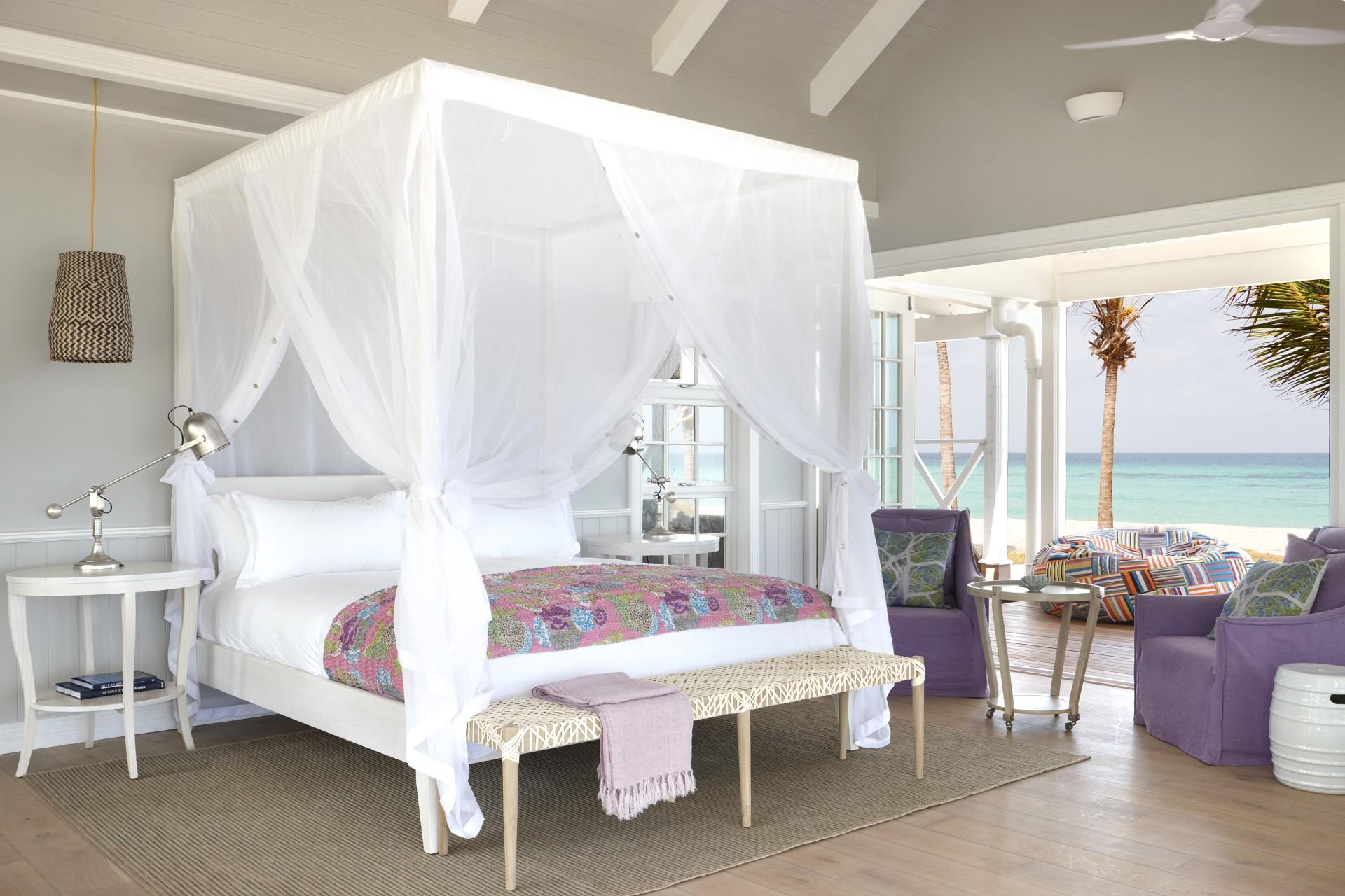 Innenansicht Villa Schlafzimmer 1