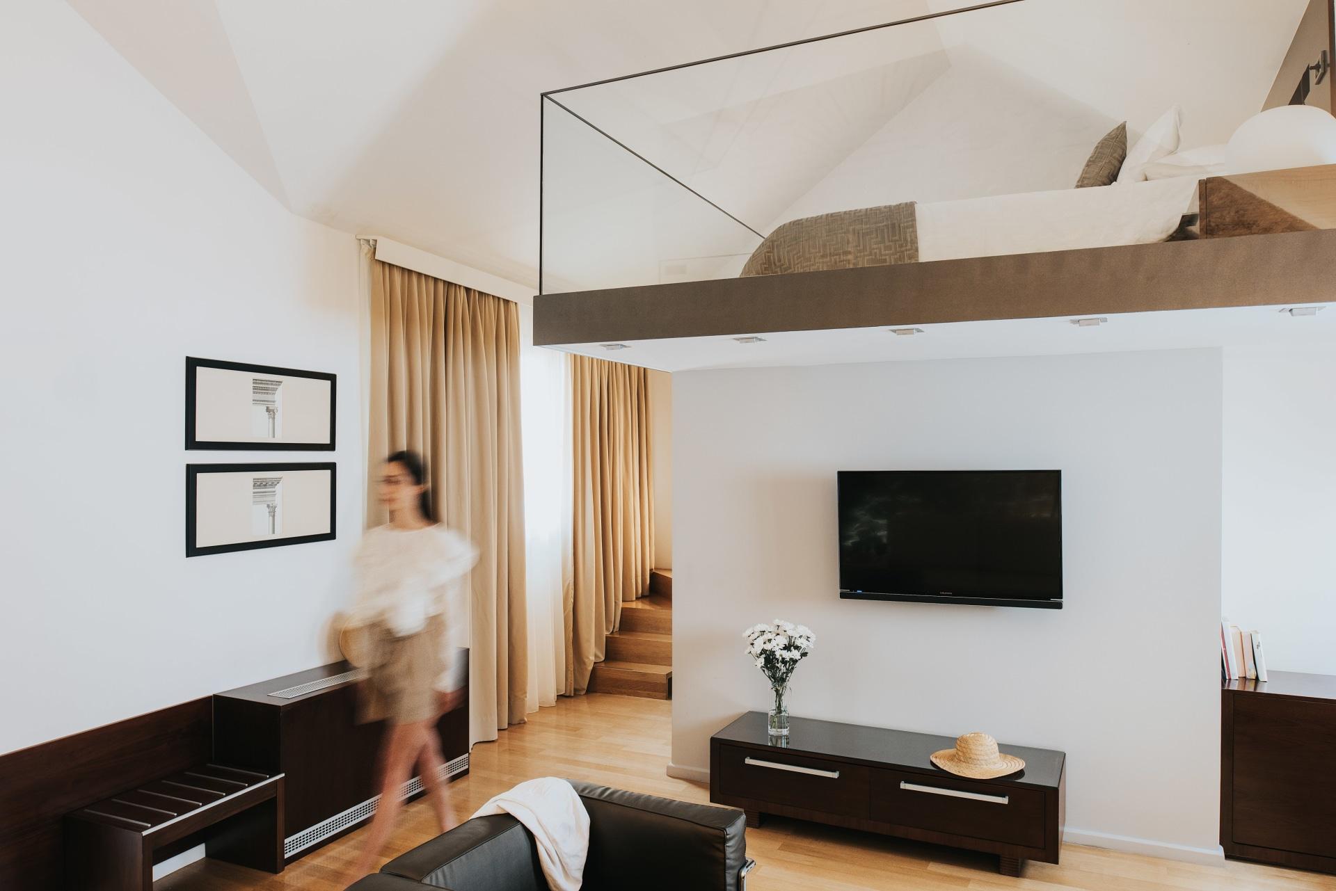 Innenansicht der Luxury Suite