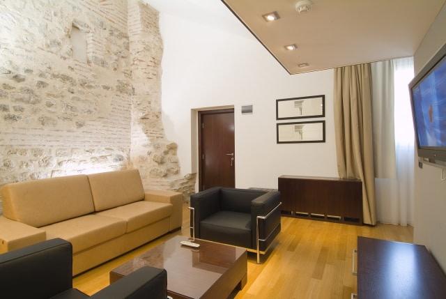 Wohnbereich der Luxury Suite