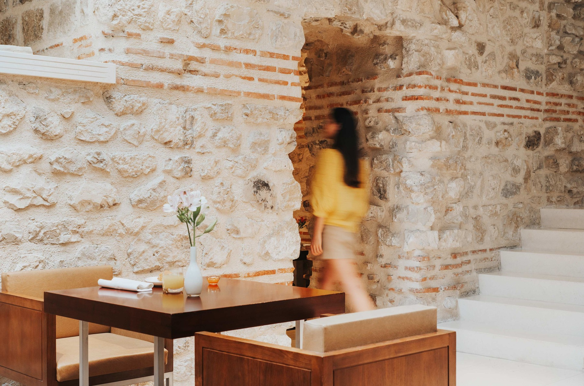Detailaufnahme im Restaurant