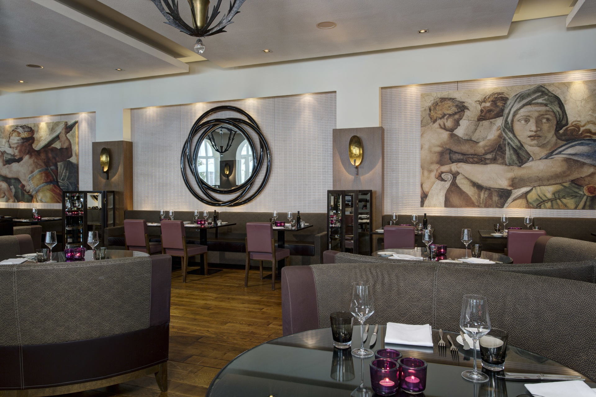 Innenbereich des Restaurant