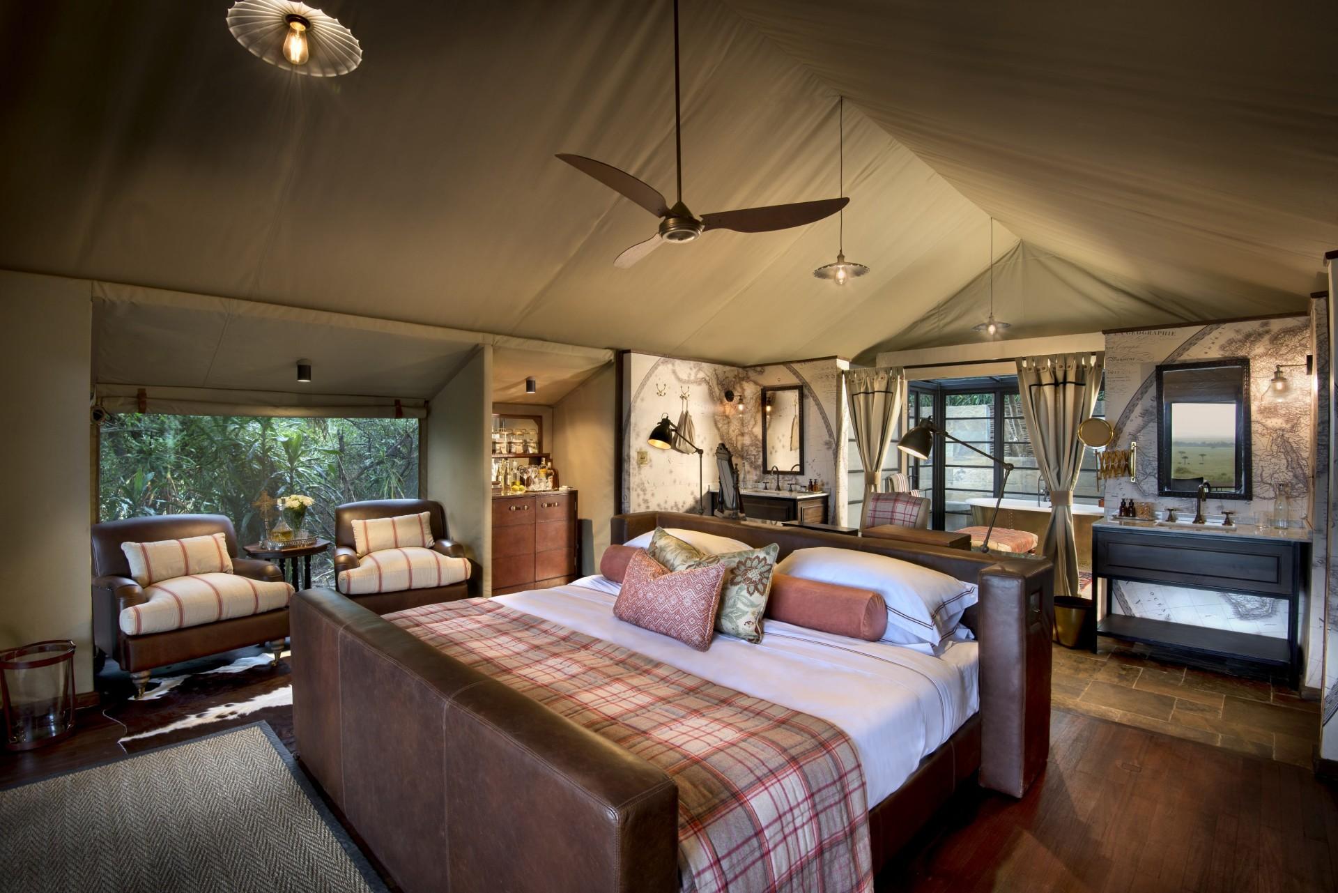 Suite im andBeyond Bateleur Camp