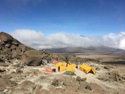 Barafu Camp kilimanjaro tansania