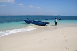 Boot nach Bongoyo Island