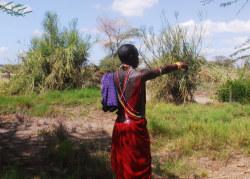 Massai sieht alles