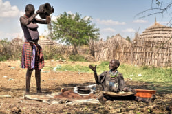 Volk Karamojong Uganda
