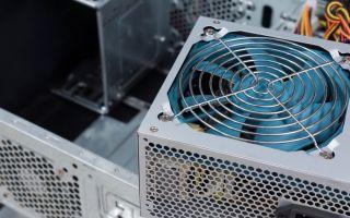 מאוורר ספק כוח במחשב מרעיש