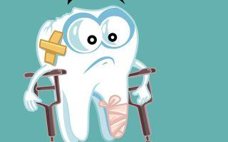 כתר זירקוניה | שן שבורה