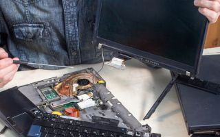 החלפת מסך מחשב נייד