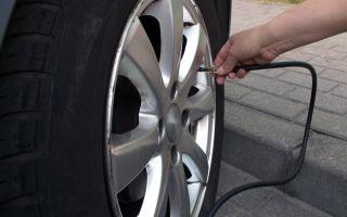 בדיקת אוויר בגלגלים