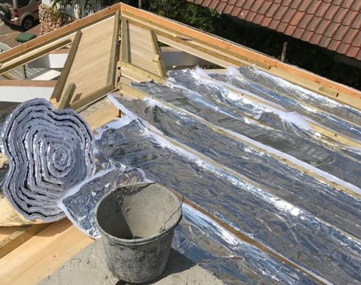 בידוד גג רעפים
