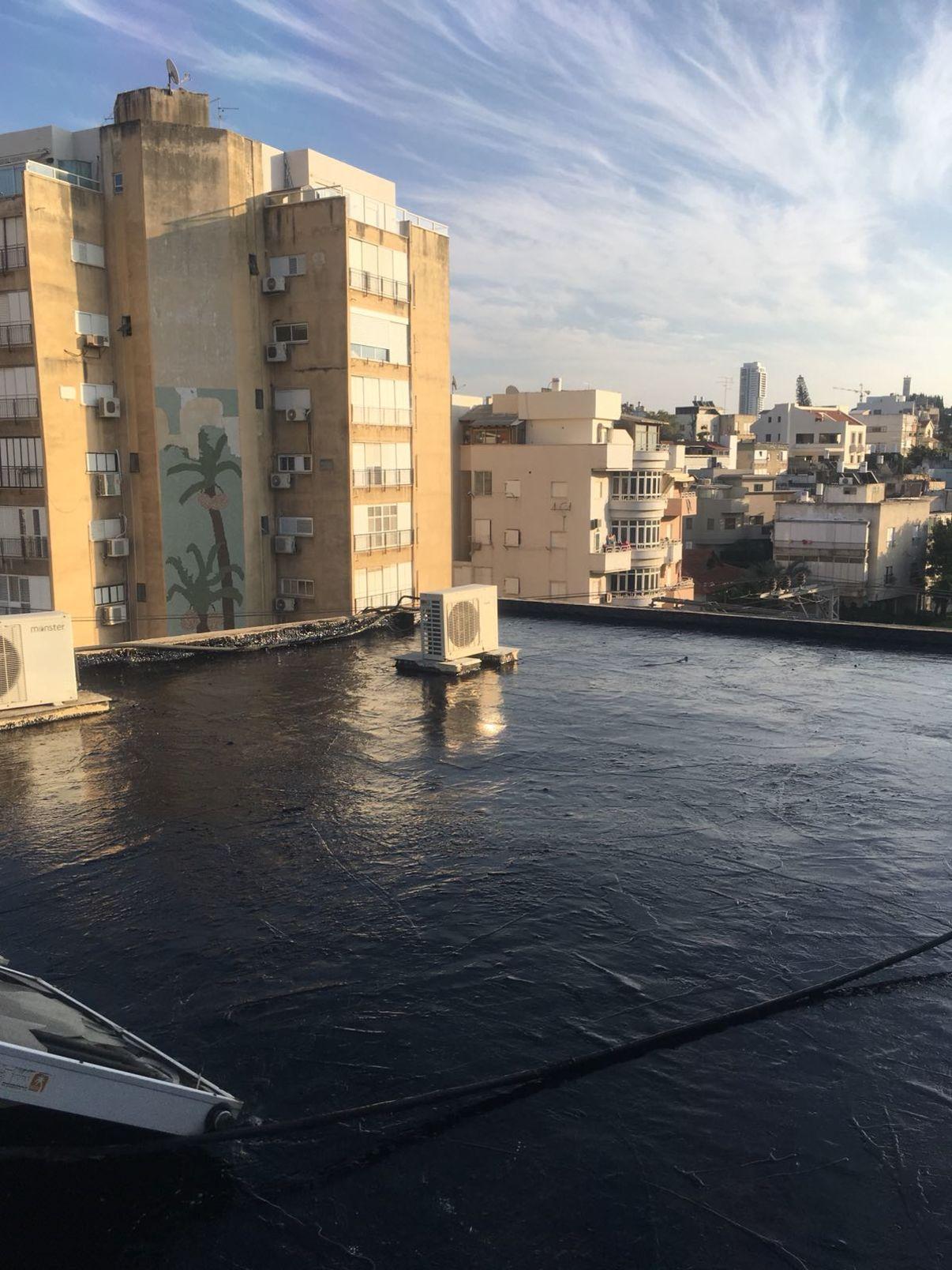 מחירי זיפות גגות | גג אטום בזפת - מידרג