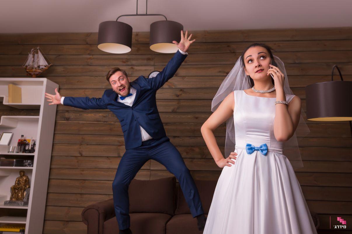 איך לבחור צלם לחתונה, סגנון מבוים