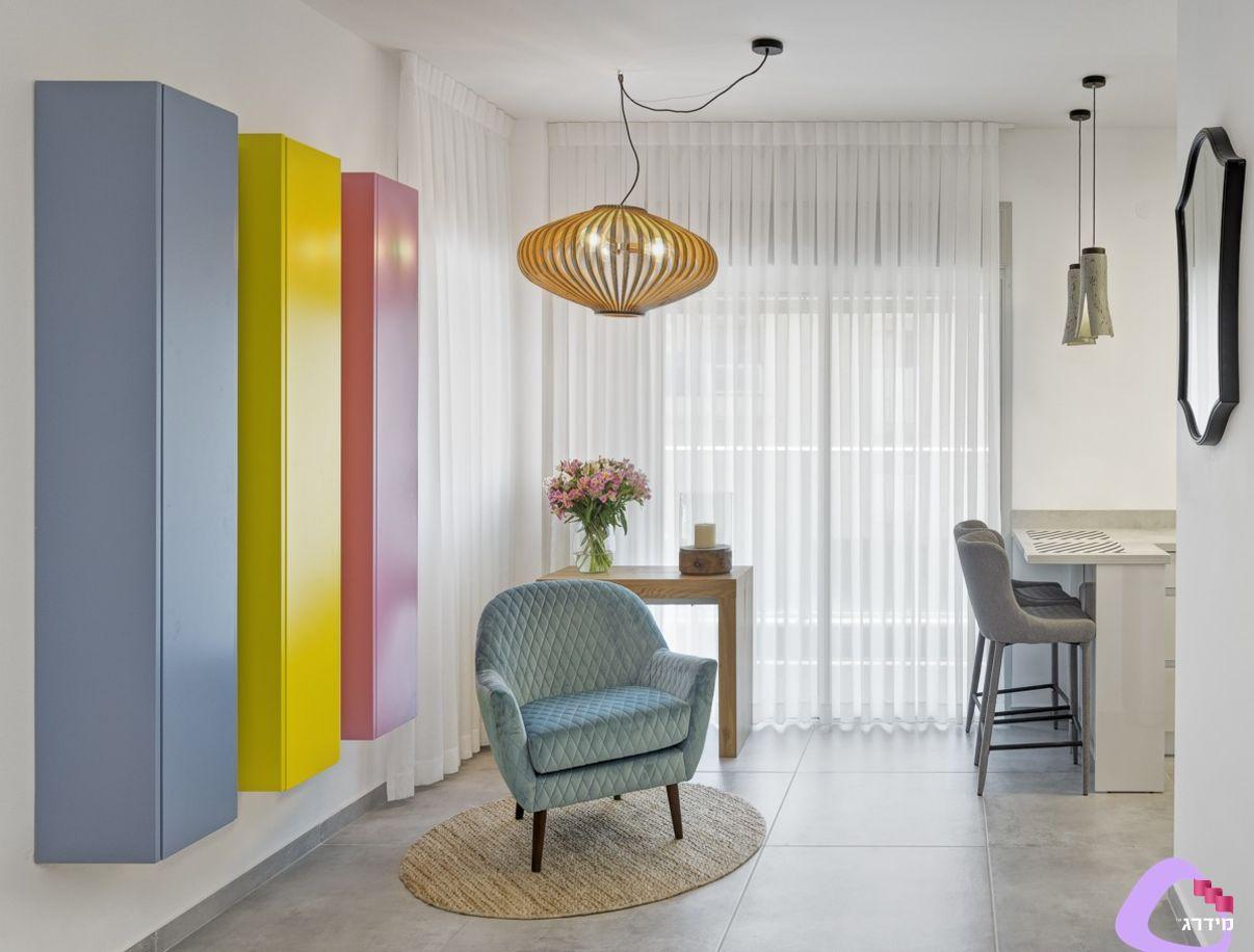 עיצוב דירה קטנה לדוגמא