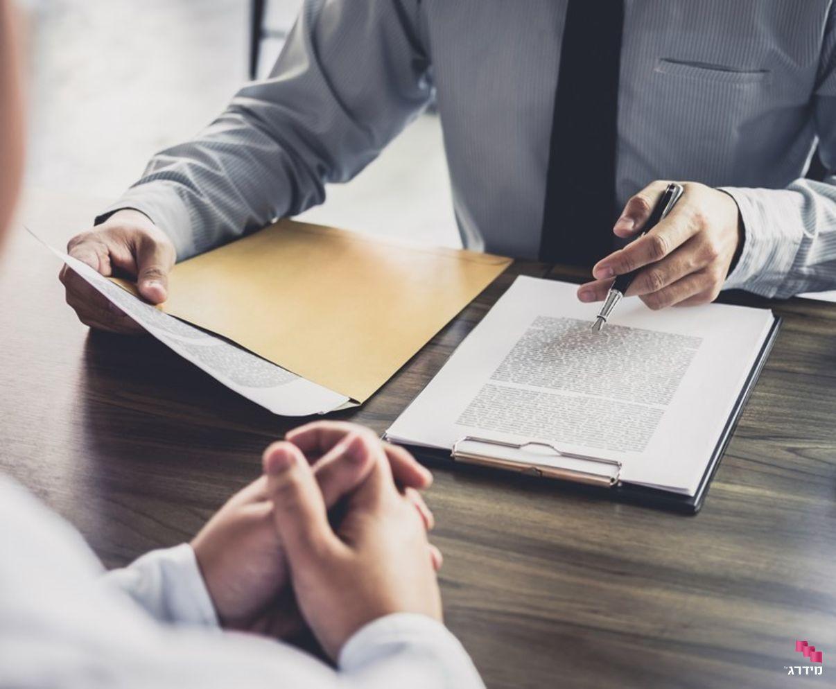 חתימה על חוזה | עורך דין לקניית דירה