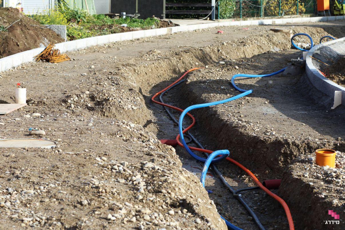 הטמנת קווי חשמל למניעת קרינה חשמלית